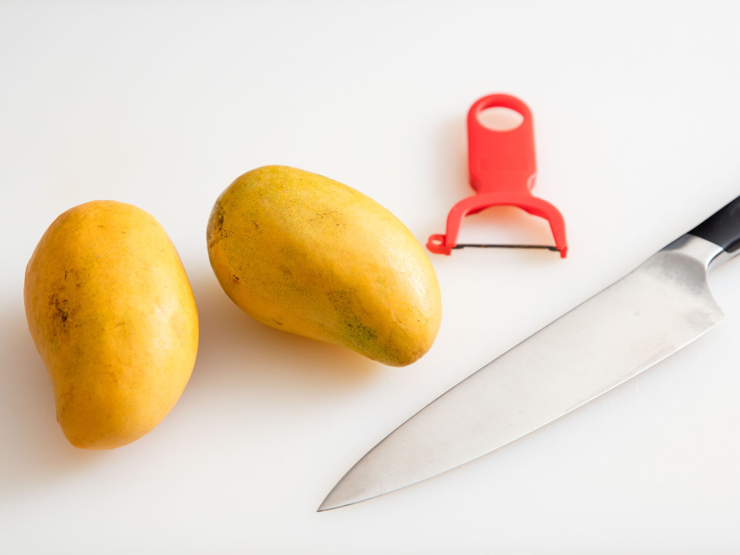 Mangoes, thin skinned