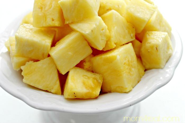 Pineapple fresh chunks
