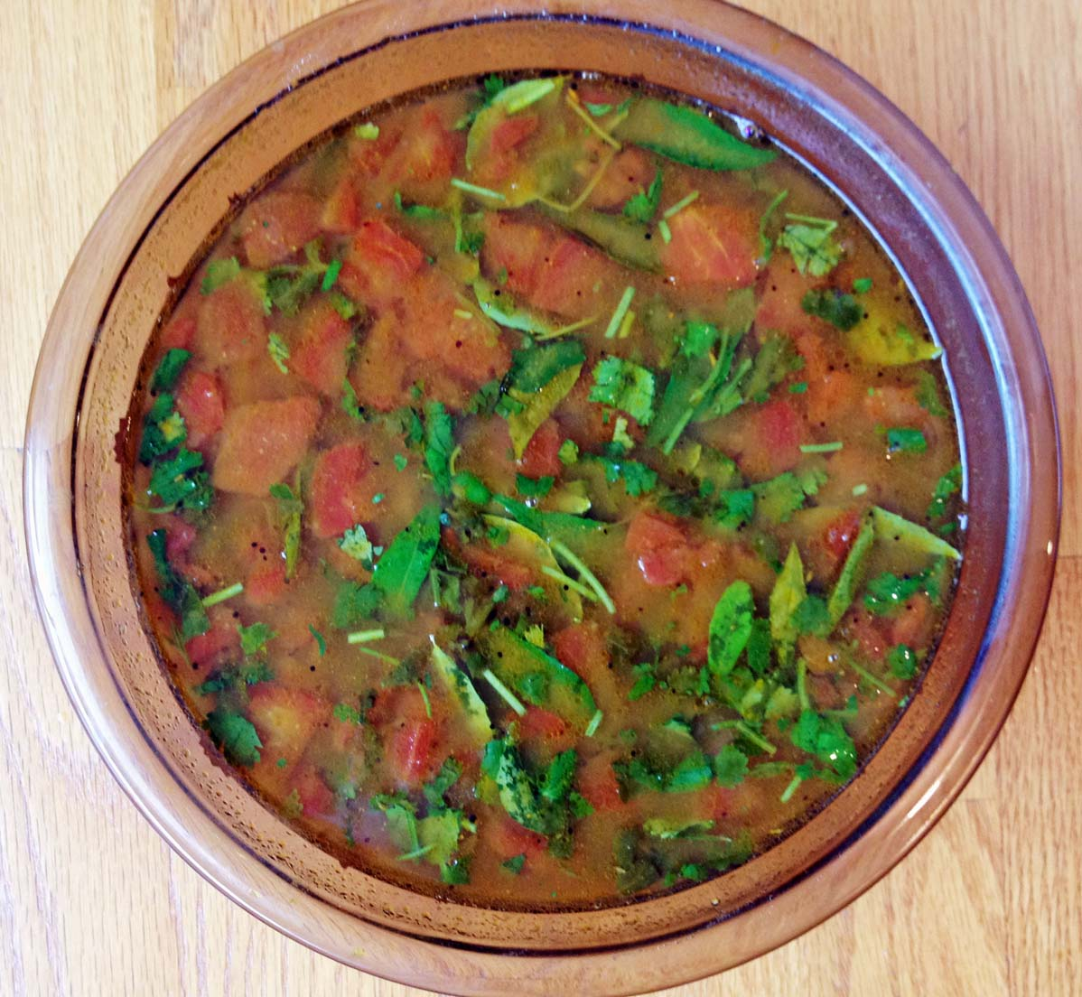 Rasam...so colorful and tasty !
