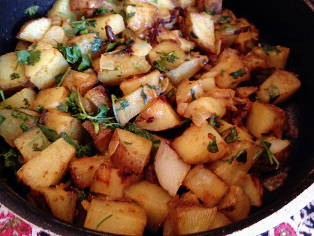 Simple Potato Curry...simply delicious