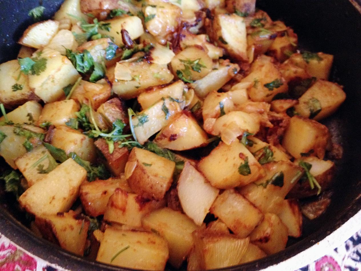 Simple Potato Curry...yummy
