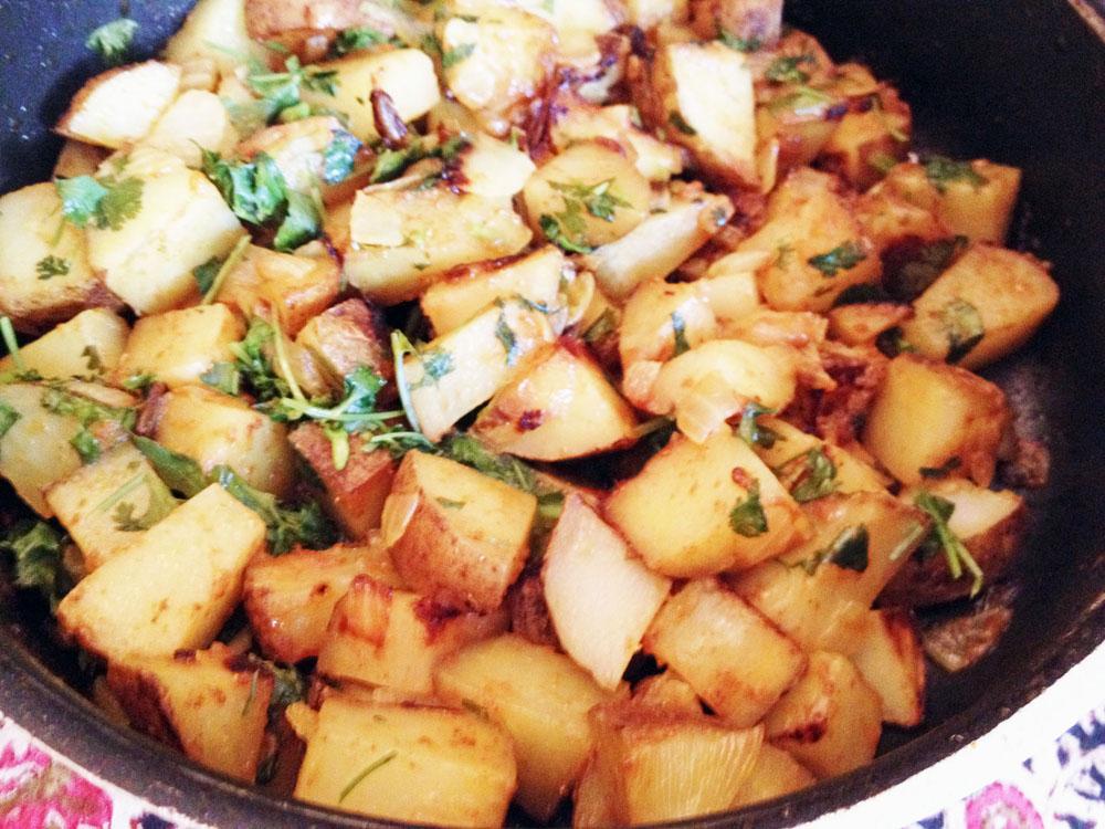 Simple Potato Curry