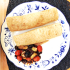 Whole Wheat Burritos with a Rare Mix