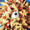 Potato Wedges Nacho Style