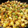 Yummy Spicy Potato Stir Fry