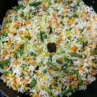 Delicious Veggie Pulav Rice