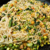 Spicy Rice Noodles Mexican Style