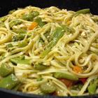Veggie Feta Linguini
