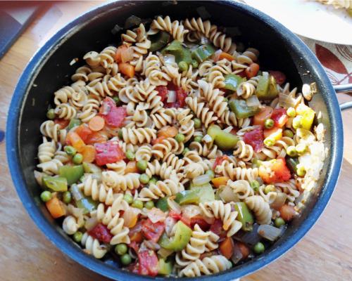 Rotini Veggie Medley - My husband loves Rotini Pasta!