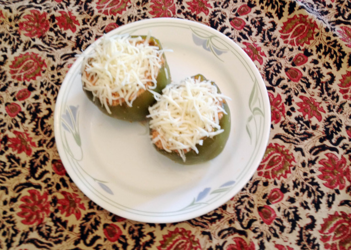 Stuffed Bell Peppers - another pretty view