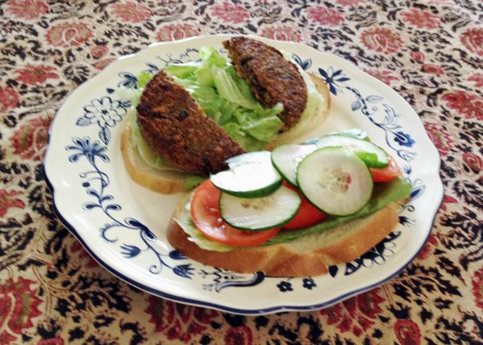 Veggie Burger - Showing it like it is!