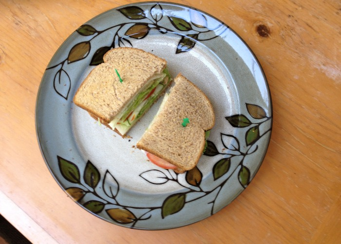 Multigrain Sandwich - a simple but tasty sandwich!