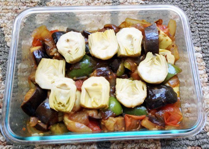 Artichoke Veggie Medley 2
