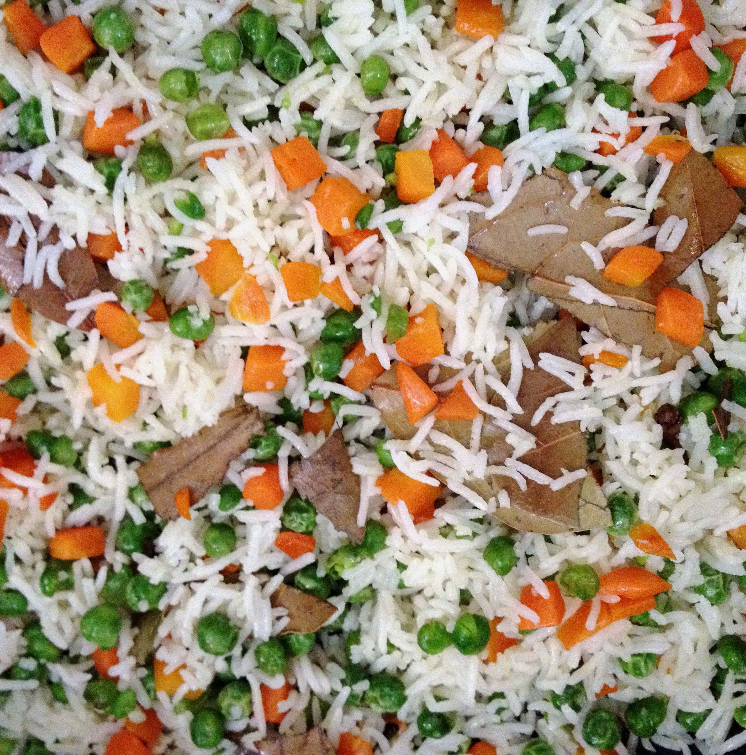 Colorful Flavorful Veggie Rice