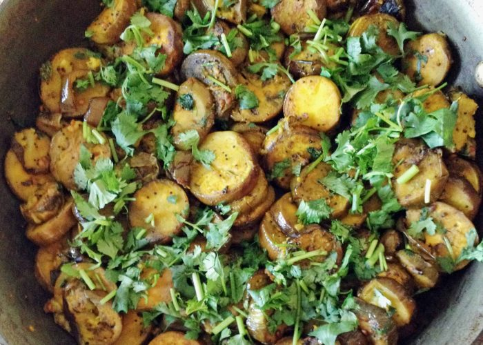 Eggplant Curry - It has healthy ingredients too