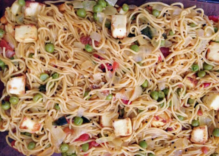 Angel Hair Pasta Melody...Healthy and Tasty