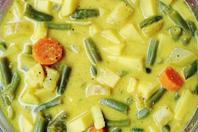 Youghurt Veggie Stew (Aviyal)