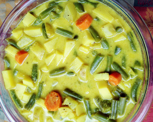 Yoghurt Veggie Stew - Come on! Try this captivating dish! You will ...
