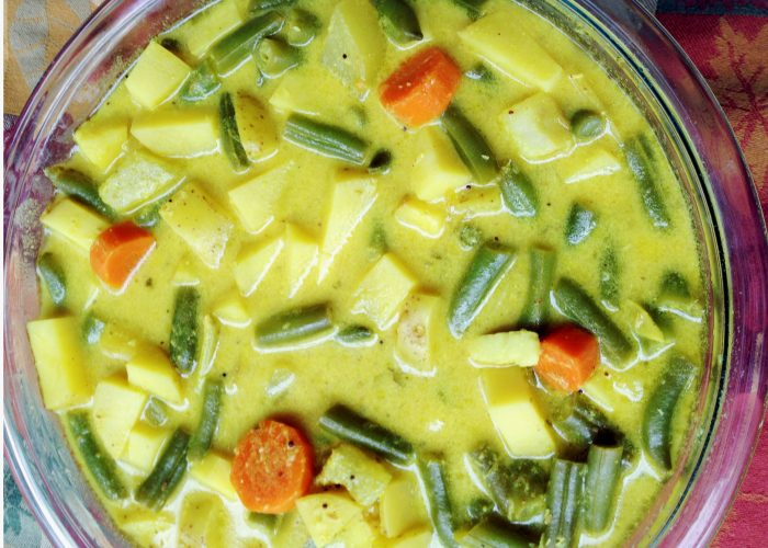 Yoghurt Veggie Stew - Come on! Try this captivating dish! You will love it!