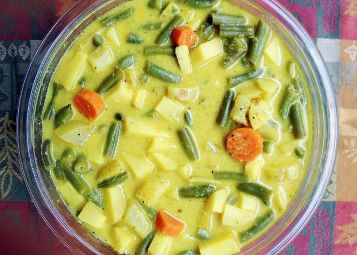 Yoghurt Veggie Stew - You want monotonous or interesting ? This dish will stimulate your taste buds for the better!
