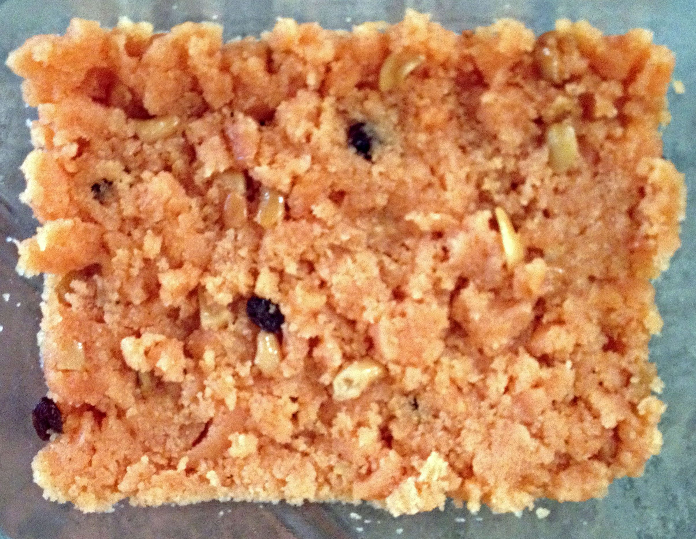 Rava Kesari (Cream of Wheat Dessert)