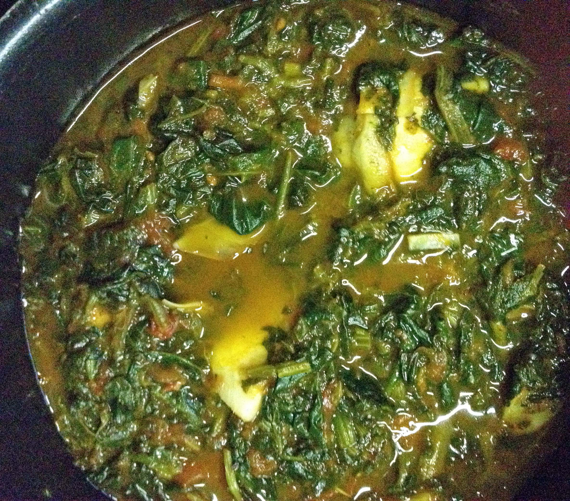 Spinach and Artichoke Hearts Sauce for Pasta
