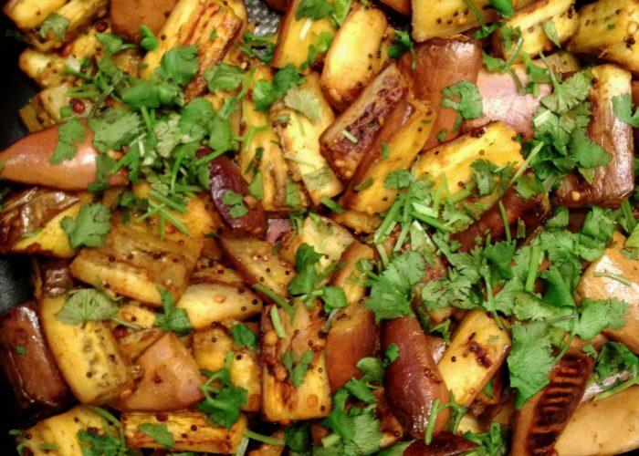 Stir-fried Spiced Eggplant Flavorful