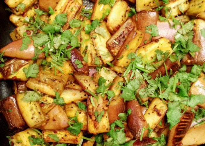 Stir-fried Spiced Eggplant Tasty