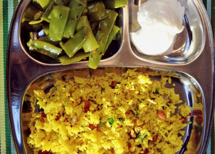 Indian Lemon Rice Meal...Healthy