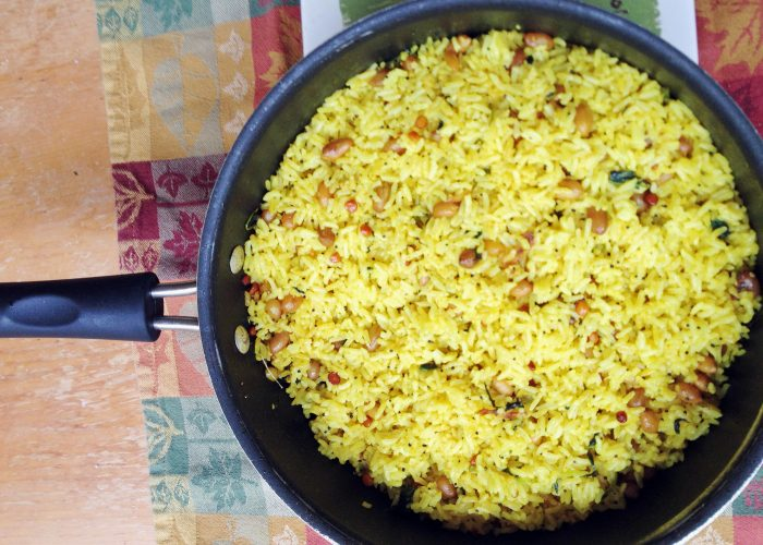Indian Lemon Rice...Colorful