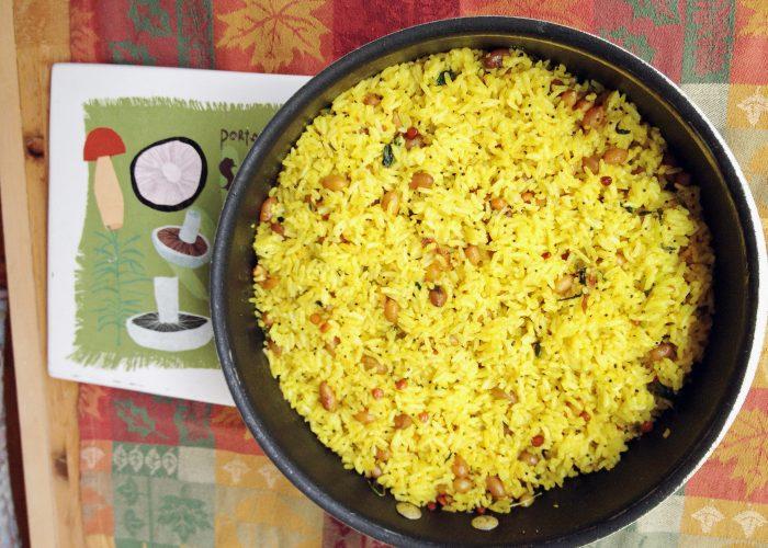 Indian Lemon Rice...Easy