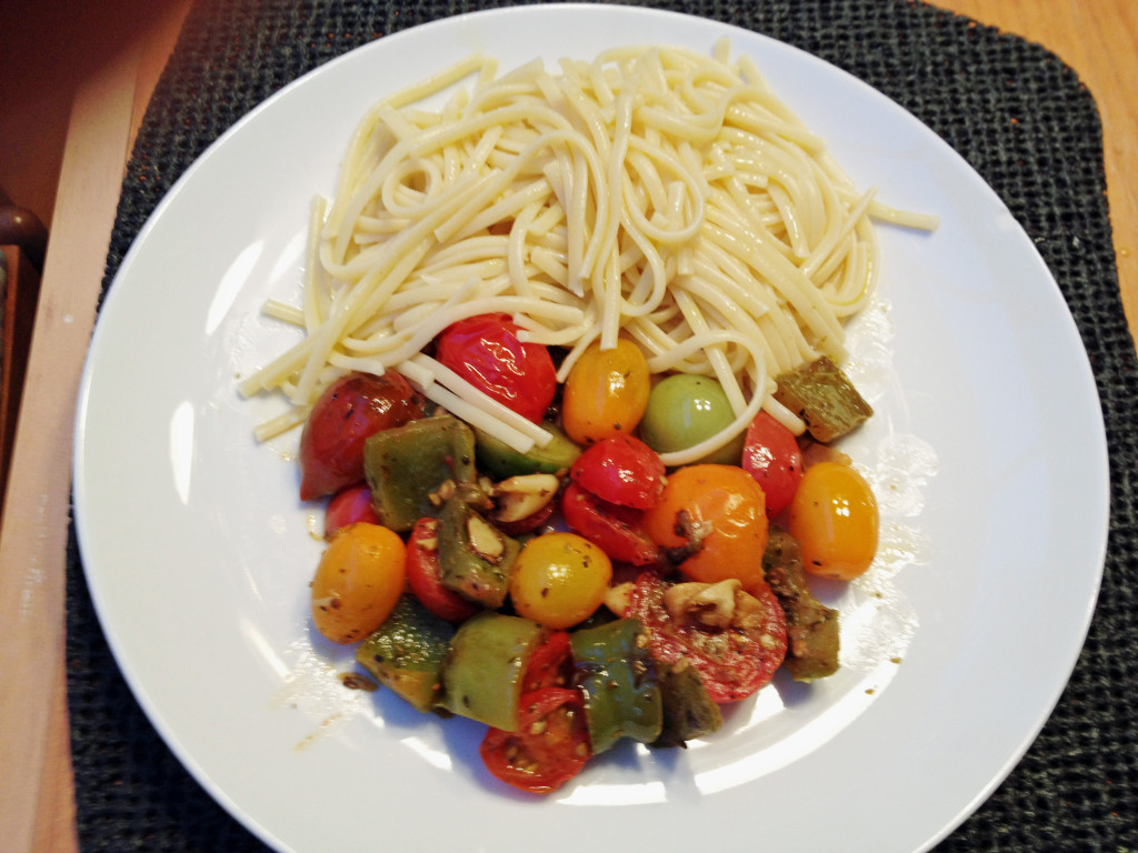 Fettuccine and Exotic Tomatoes Medley..Beautiful