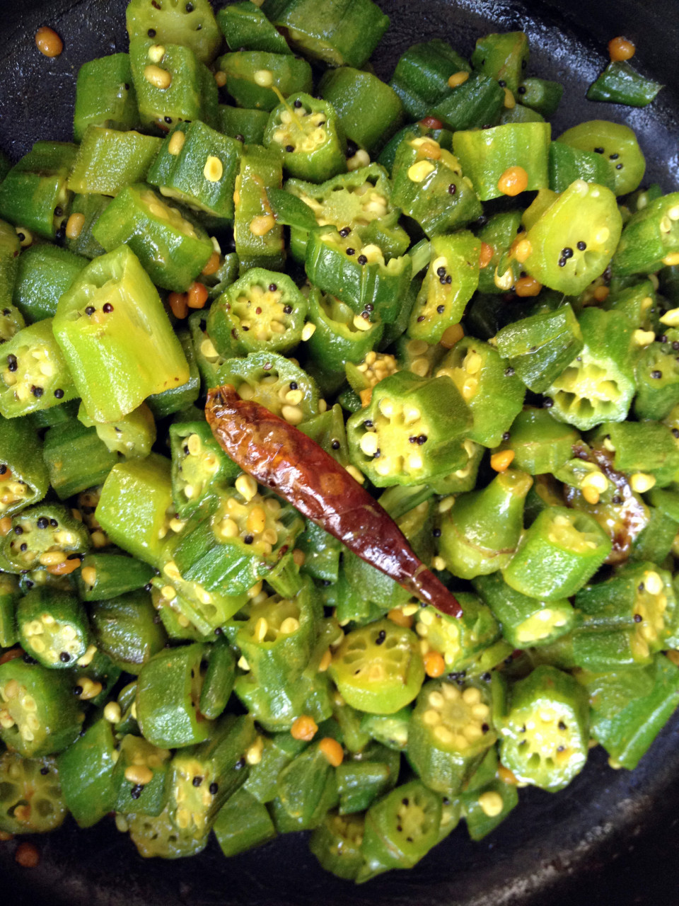 Mildly Spiced Okra Curry..Beautiful