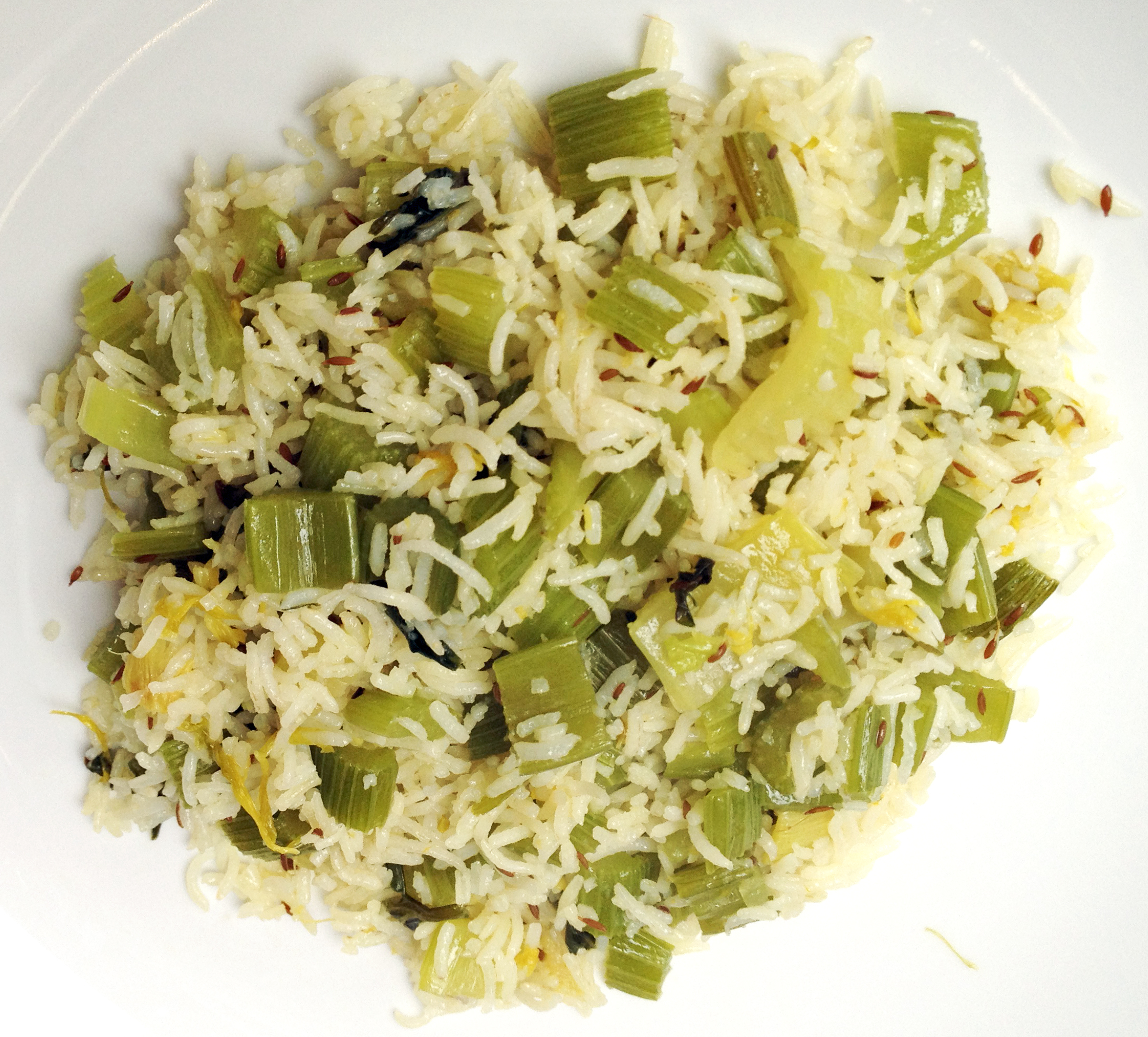 Yummy Celery Rice