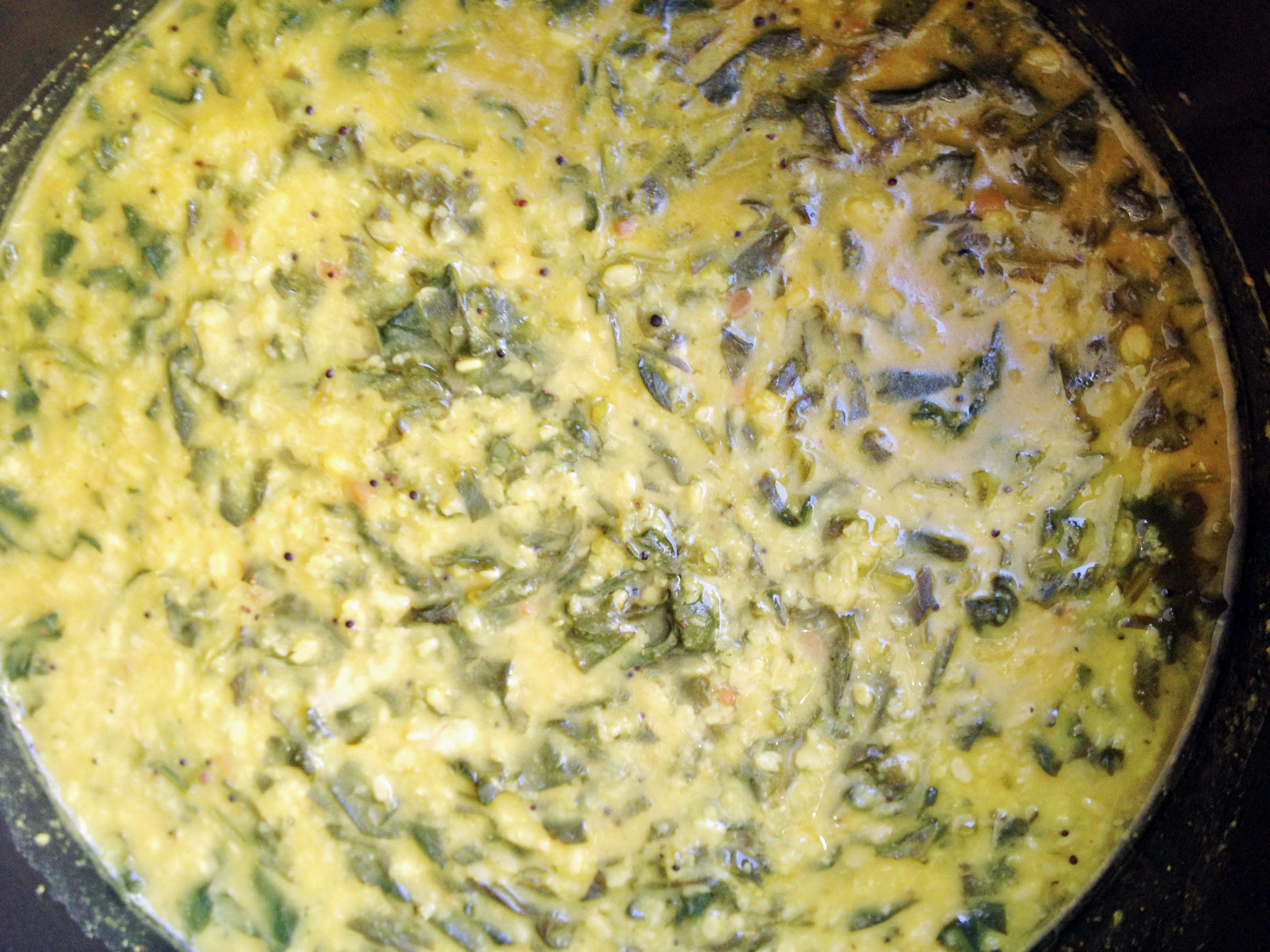 Spinach and Dahl Stew