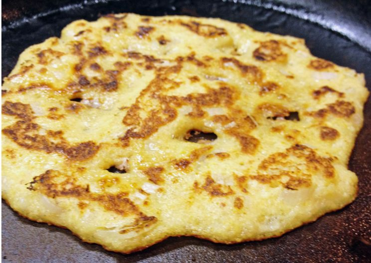 Crispy Rice and Lentils Pancakes 10