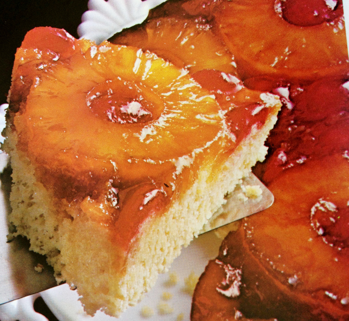 Delicious Upside Down Pineapple Cake