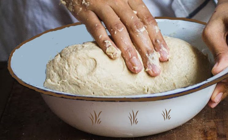 Kneading by hand 2
