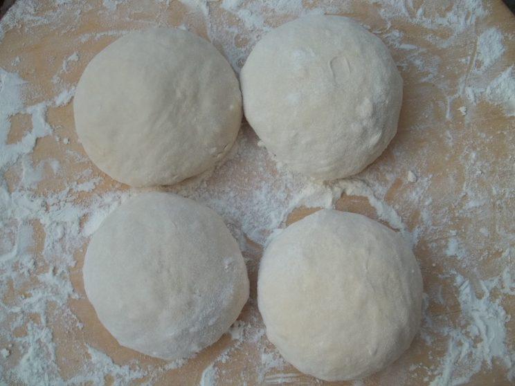 10. Small dough balls