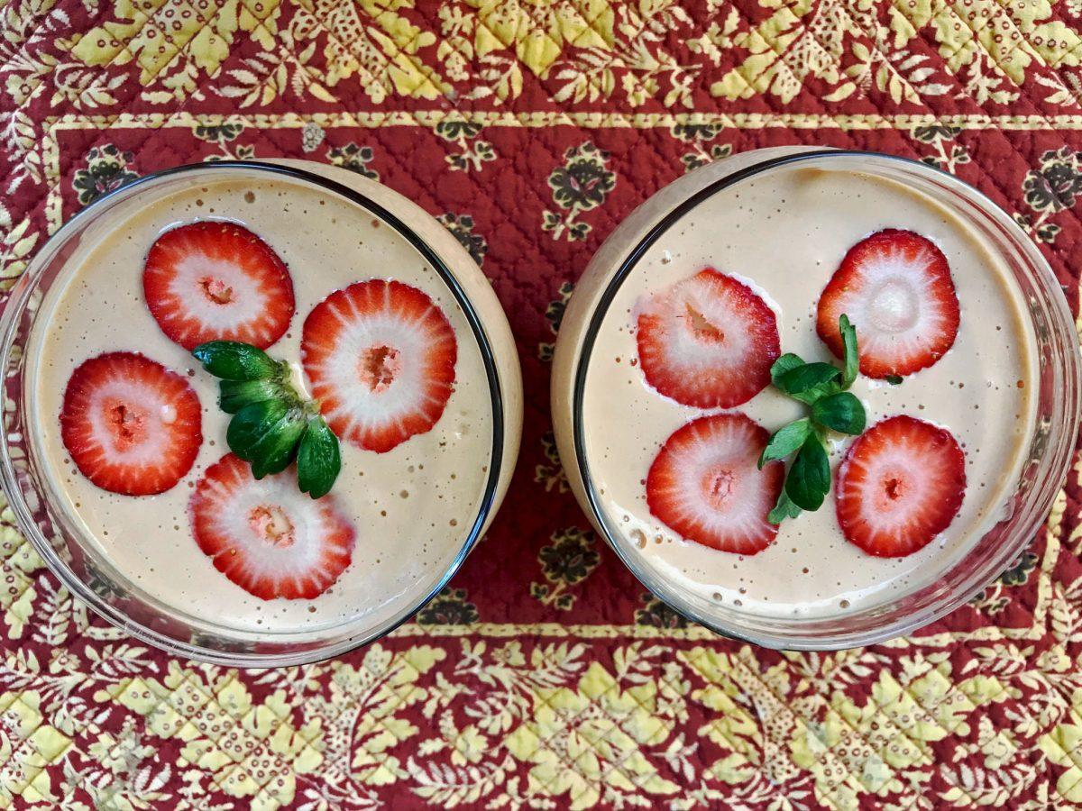 Apricot Smoothie Dessert 1