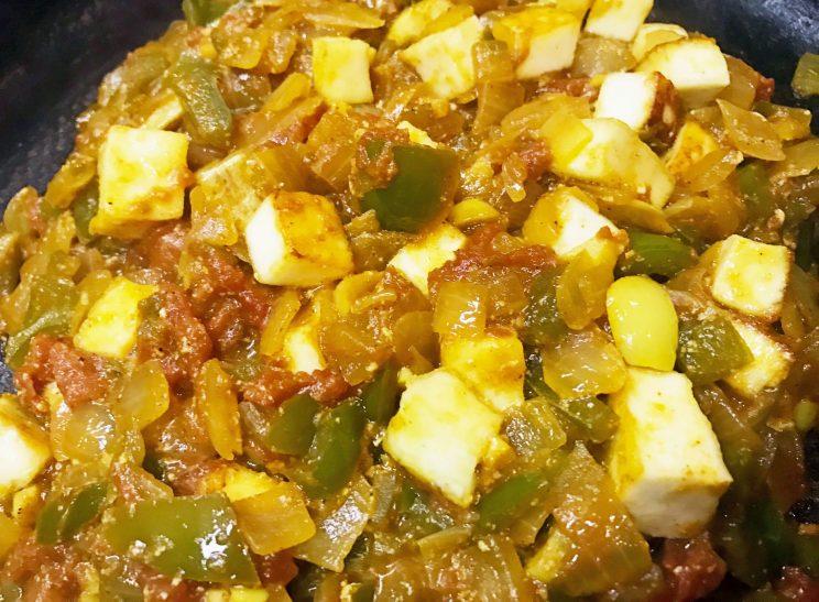 Veggie Paneer Masala Curry