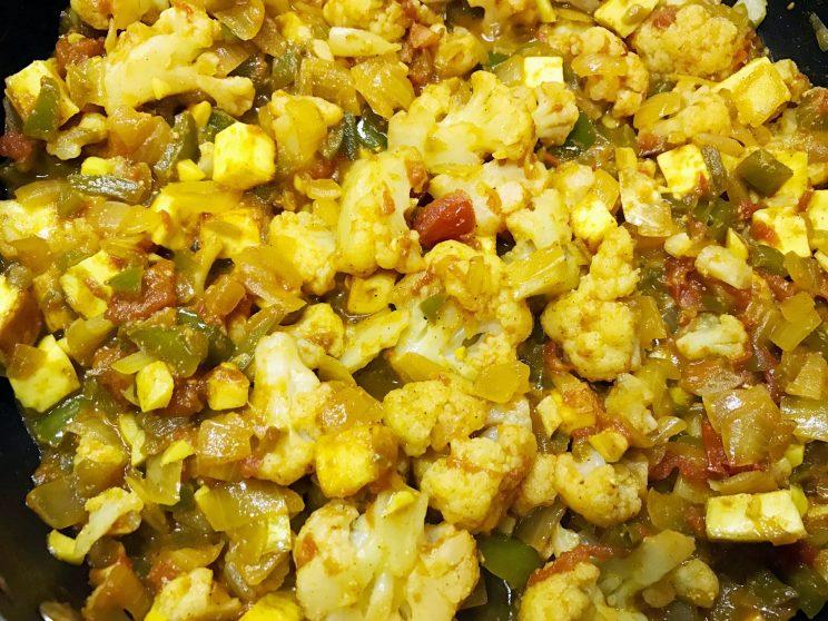 Veggie Paneer Masala Curry 7