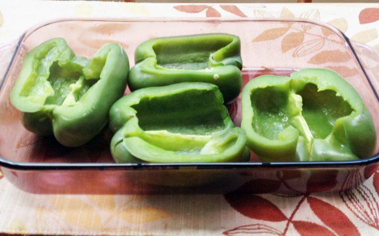 Wondeful Stuffed Bell Pepper Halves 1