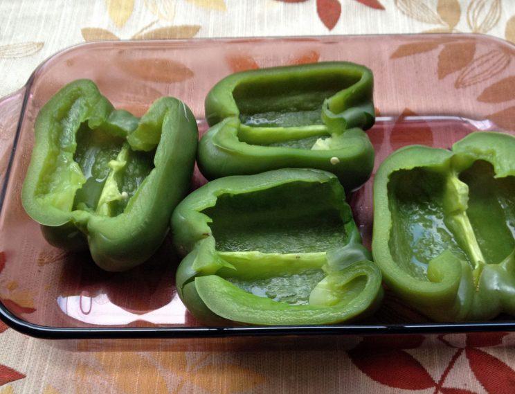 Wondeful Stuffed Bell Pepper Halves 2