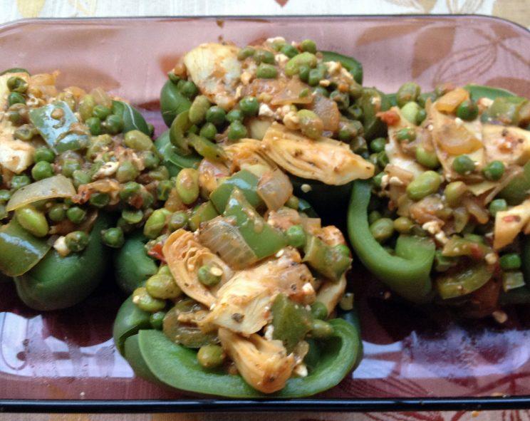 Wondeful Stuffed Bell Pepper Halves 4