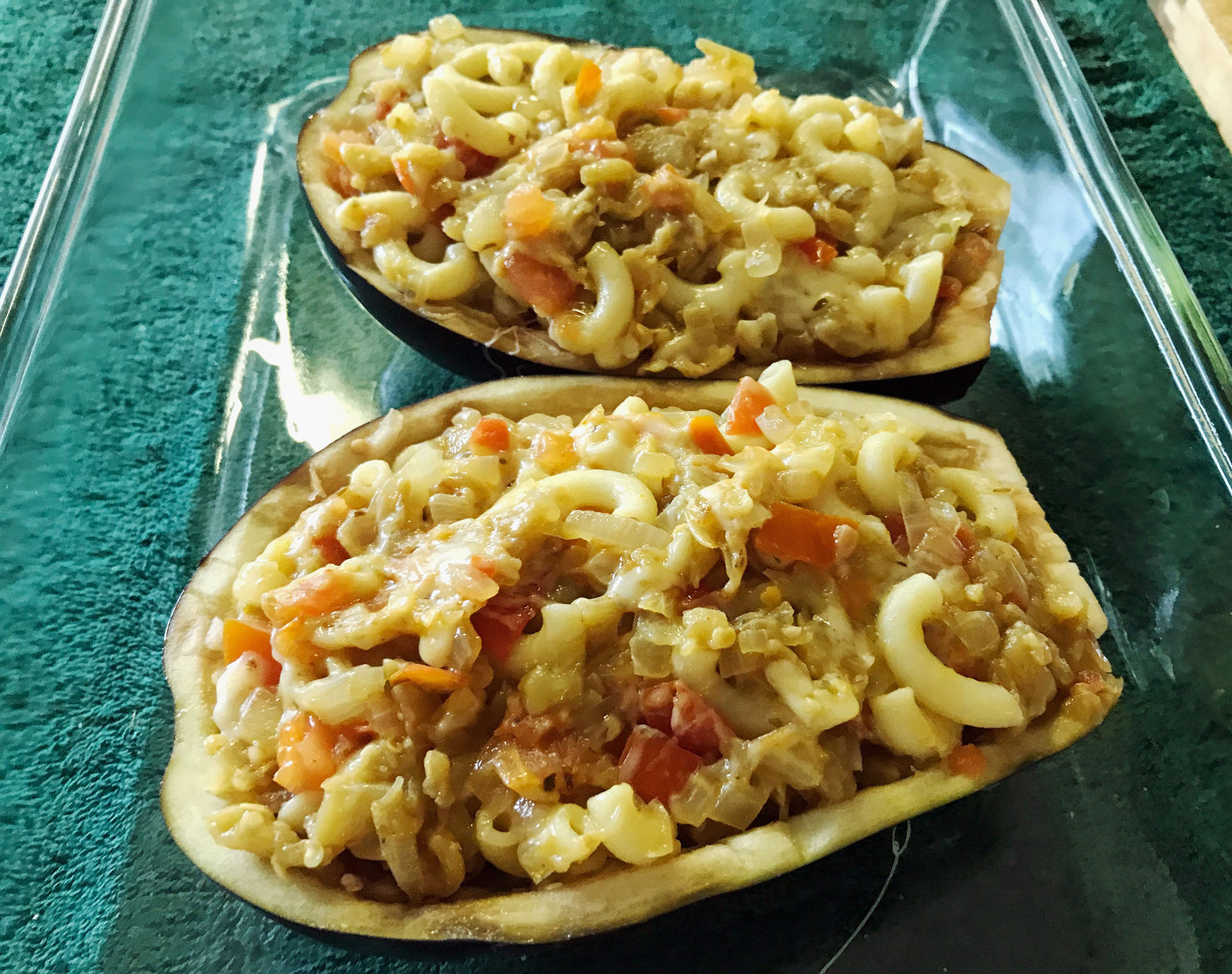Delectable Stuffed Eggplant 1