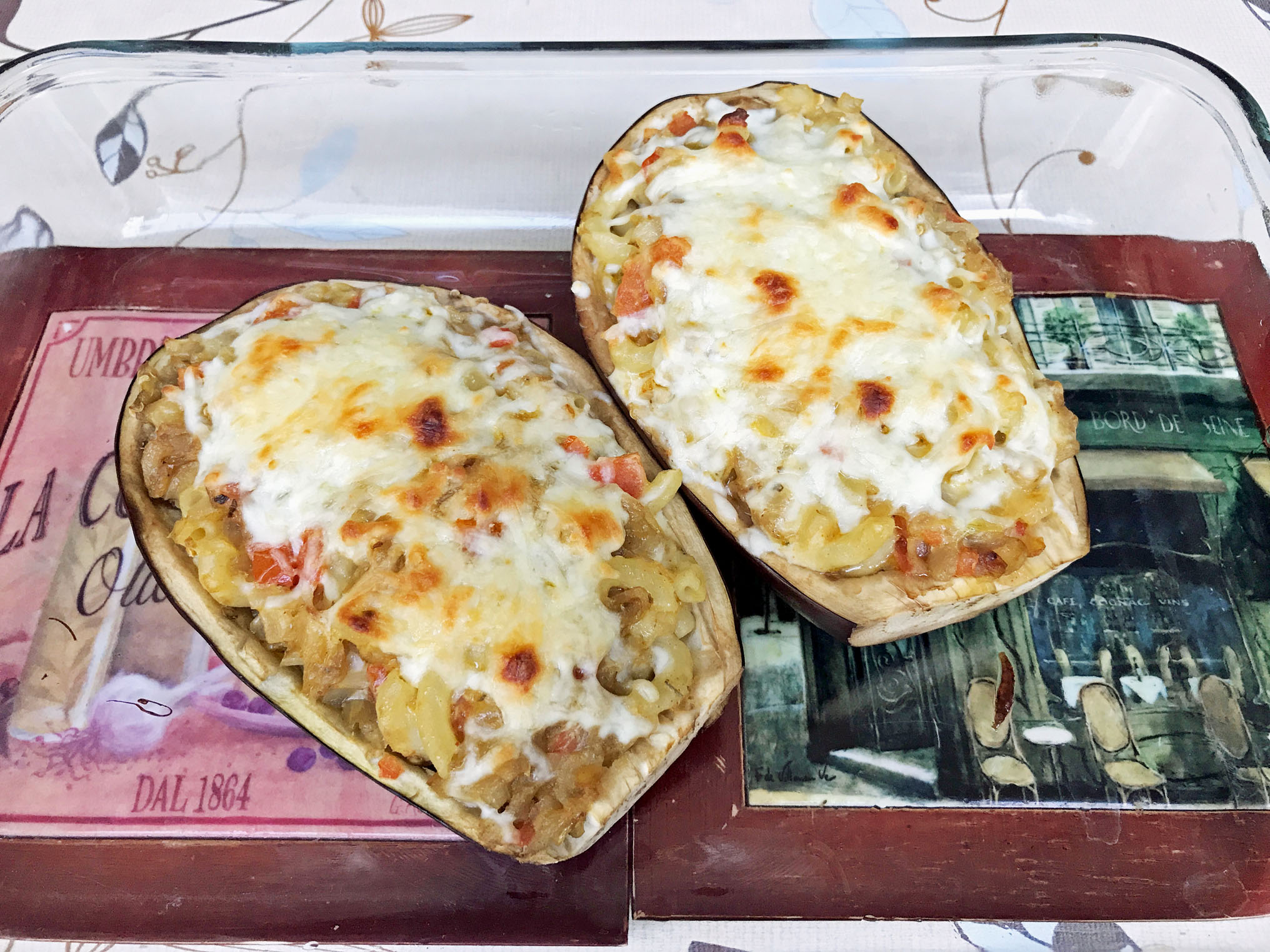 Delectable Stuffed Eggplant 7