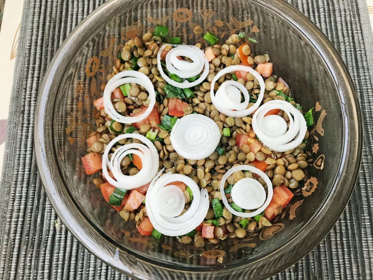 Magnificent Lentil Salad 2