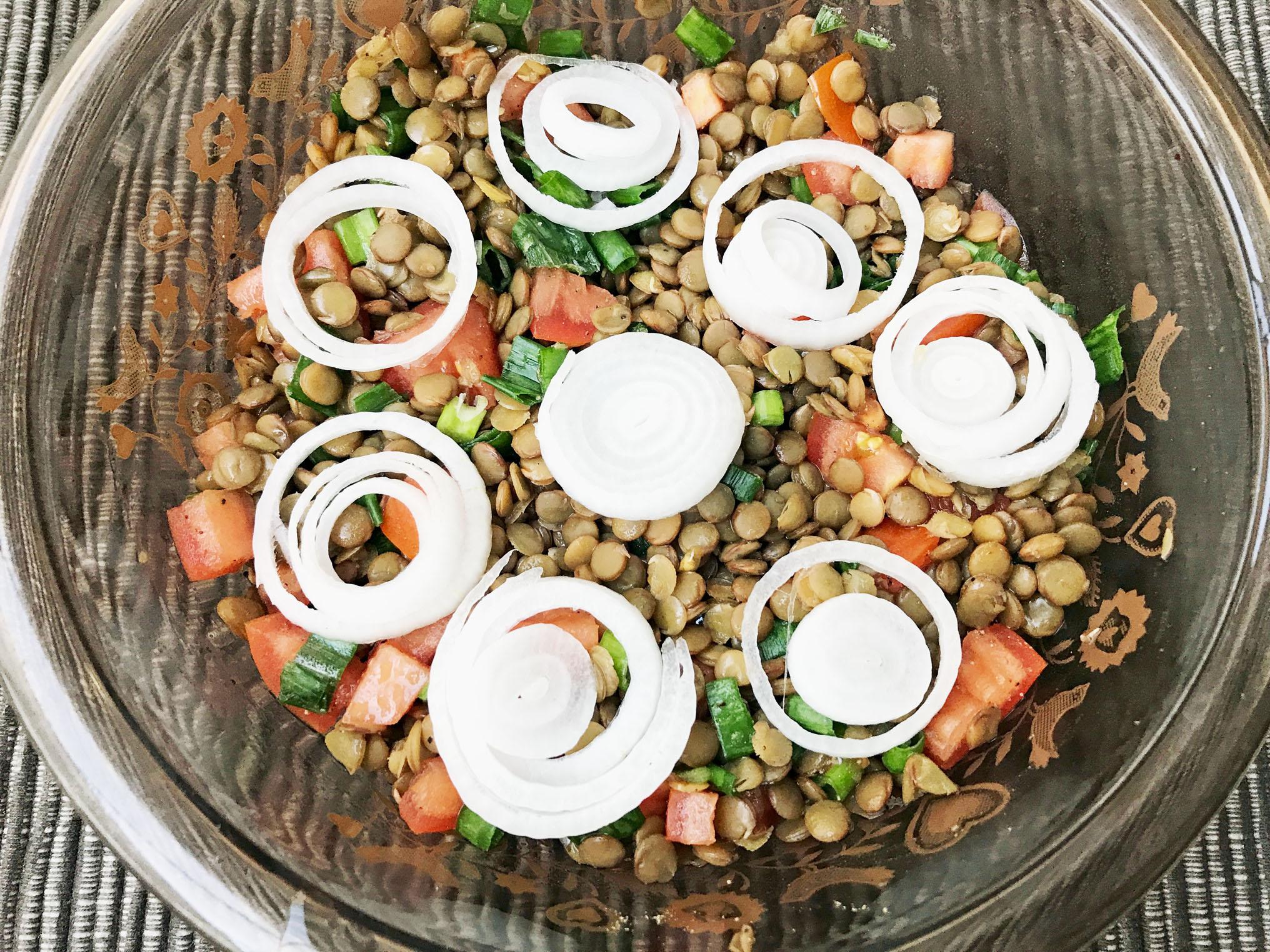 Magnificent Lentil Salad