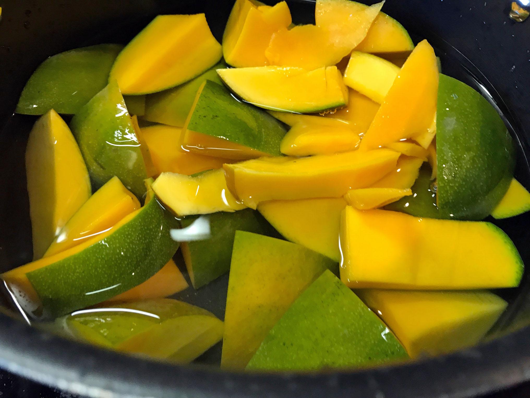 Indian Mango Sweet Sour Pachadi (Salad-Relish) 3